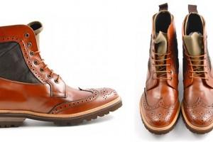 BePositive Neva Brogues & Brogue Boots