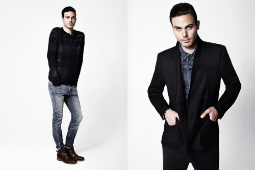 AllSaints Autumn 2012 Men's Lookbook