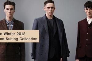 Topman AW12 Premium Suiting Collection