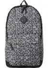 Topman Black And White Print Rucksack
