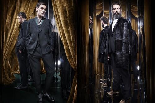 Roberto Cavalli Autumn/Winter 2013 Men's Lookbook