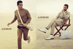 A.Testoni Spring/Summer 2013 Advertising Campaign