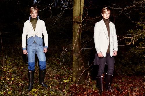 Allan Vos Autumn/Winter 2013 Men's Lookbook