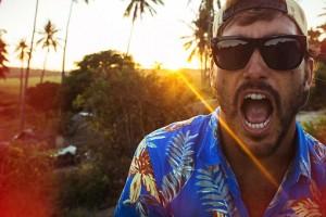 Quiksilver 'Lagoon Road' Hawaiian Shirt