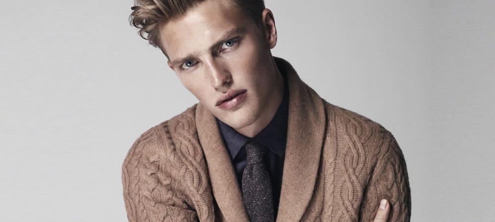 Essential Spring Layering Piece: The Shawl Neck Cardigan
