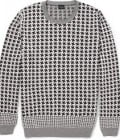 Ps By Paul Smith Houndstooth Check Cotton Sweater