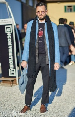 Anonymous, Photographed in Pitti Uomo - Click Photo To See More
