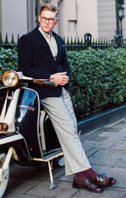 Scott Fraser Simpson, Photographed in London - Click Photo To See More