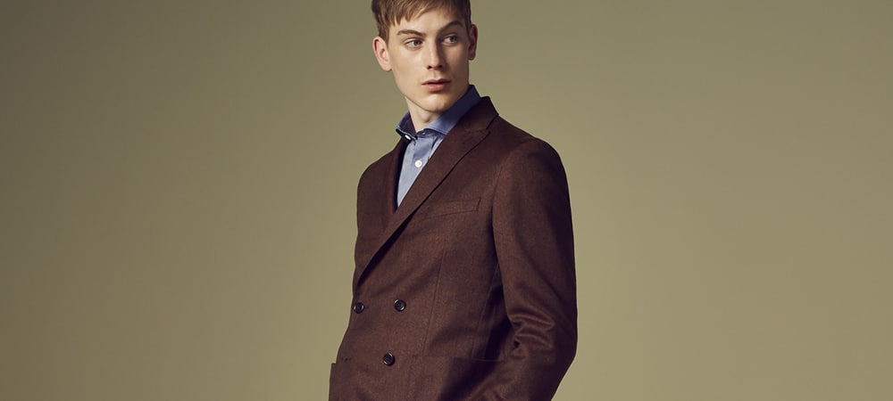 Jaeger's New Collection Makes Washable Suits Stylish