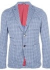 John Sheep Two Button Houndstooth Blazer
