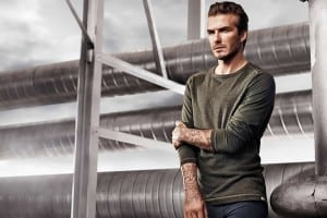 David Beckham Bodywear for H&M Spring 2014 Advertising Campaign