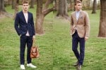 H&M August 2014 Style Guide Men's Lookbook