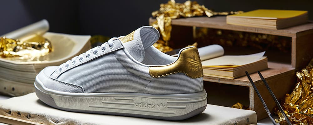 Adidas Shows Off 24-karat Gold Stan Smith And Rod Laver Trainers