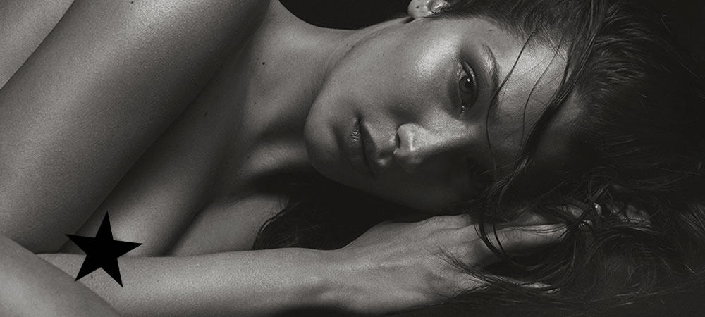 Bella Hadid Gets The Kate Moss Treatment In Latest NSFW Shoot