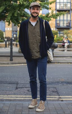 Jonny, Photographed in London - Click Photo To See More